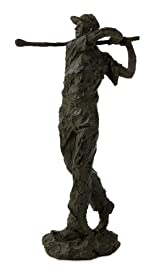 Ace in the Hole Contemporary Golf Statue Sculpture