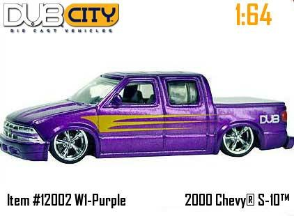 Dub City 1:64 2000 Chevy S-10 by Jada