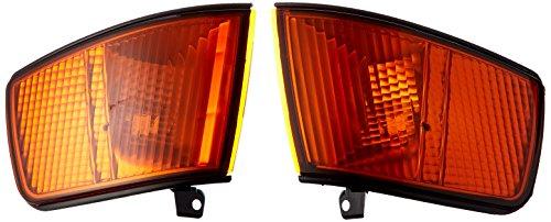 Spec-D Tuning LC-CRX90AM-RS Honda Crx Hf Si Jdm Signal Corner Lights Amber (Honda Crx Jdm compare prices)