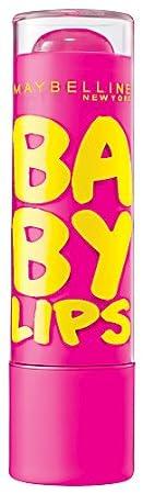 Maybelline New York Baby Lips Moisturizing Lip Balm, Pink Punch, 0.15 Ounce