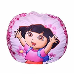 Nickelodeon Dora Flowers Bean Bag from Nickelodeon