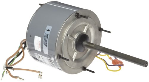 "Fasco D7909 5.6"" Frame Open Ventilated Permanent Split Capacitor Condenser Fan Motor With Ball Bearing, 1/4Hp, 1075Rpm, 208-230V, 60Hz, 1.8 Amps"