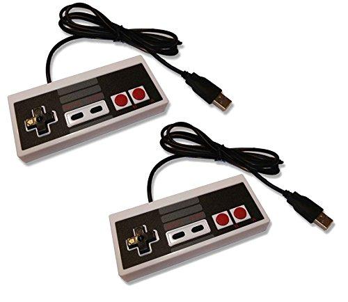 joueurs-gear-2-x-pc-usb-nes-classic-style-retro-manette-de-controle-joy