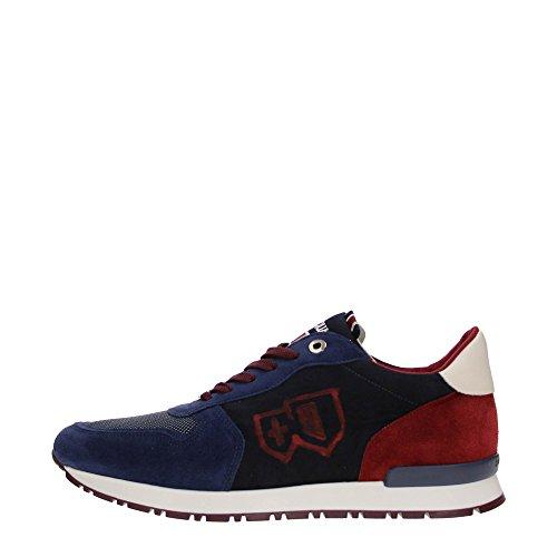 D'Acquasparta BOTTICELLI U700 Sneakers Uomo Scamosciato FABRIC BLUE FABRIC BLUE 41