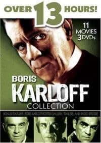 Boris Karloff Collection - 10 Movie Pack