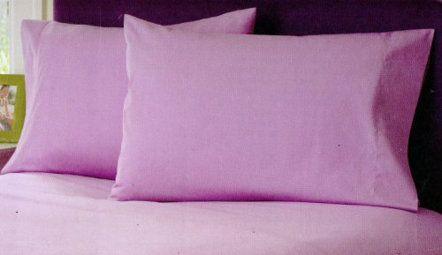 Brand ( Lavender , Cal King ) Solid Luxury Bedding 100% Egyptian Cotton Bedding 4-Piece Sheet Set With 26 Inches Extra Very Large Deep 400Tc Made By Brand Srp Linen front-1031644