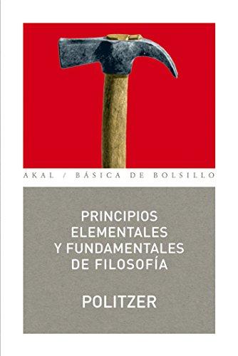 Principios elementales y fundamentales de filosofía (Básica de Bolsillo)