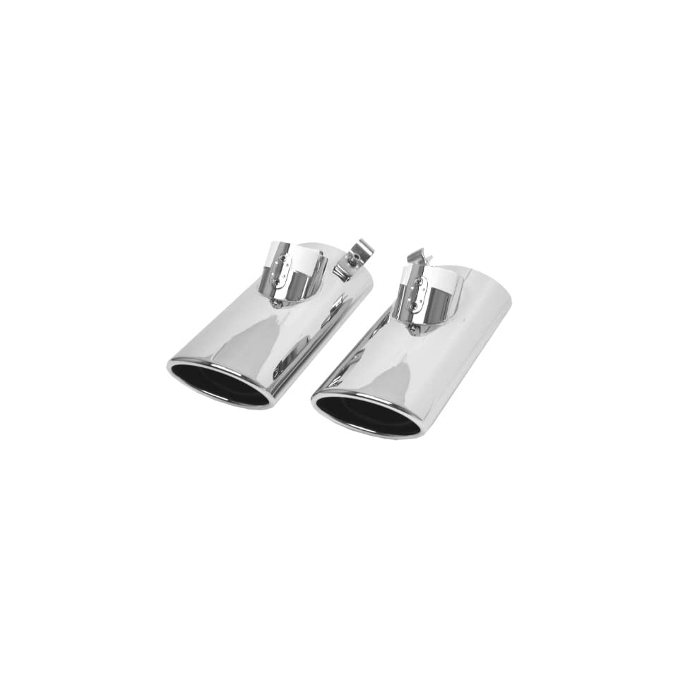 URO Parts W220 EXHAUST Stainless Steel Exhaust Tip