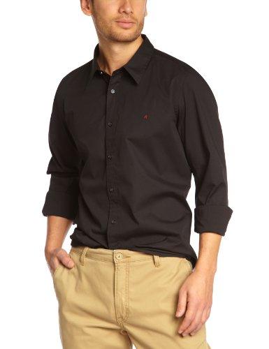Replay Men's M4738C.000.80279A Casual Shirt Black (Black 098) 46