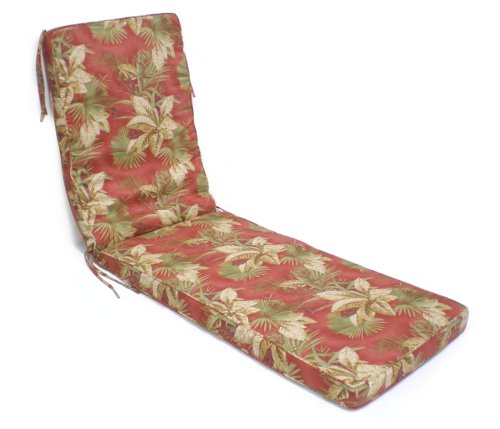 Box Walt Chaise Cushion, Olive, Brick, Floral - Buy Box Walt Chaise Cushion, Olive, Brick, Floral - Purchase Box Walt Chaise Cushion, Olive, Brick, Floral (Lifestyle products, Home & Garden,Categories,Patio Lawn & Garden,Patio Furniture,Cushions Covers & Pillows,Patio Furniture Cushions)