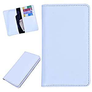 DSR Pu Leather case cover for Gionee Elife E6 (white)