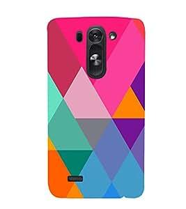 Graphic Color Pattern 3D Hard Polycarbonate Designer Back Case Cover for LG G3 Beat :: LG G3 Vigor :: LG G3s :: LG g3s Dual