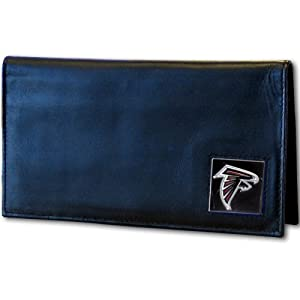 NFL Atlanta Falcons Deluxe Leather Checkbook Cover by Siskiyou Gifts Co, Inc.