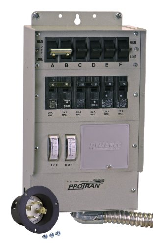 Reliance Controls Q506A 6-Ciruit Q-Series Switch, 125/250-Volt (Discontinued By Manufacturer)