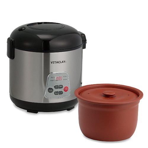 Vitaclay® Essenergy 6-cup Rice Slow Cooker