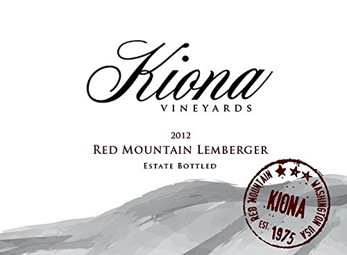 2012 Kiona Vineyards And Winery Red Mountain Estate Lemberger 750 Ml