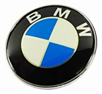 Bmw Emblem 2 Pins Logo Front Hood Or Rear Trunk Badge Symbol Roundel 82mm from Thailand