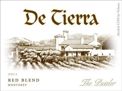 2011 De Tierra Red Blend The Puzzler 750 Ml