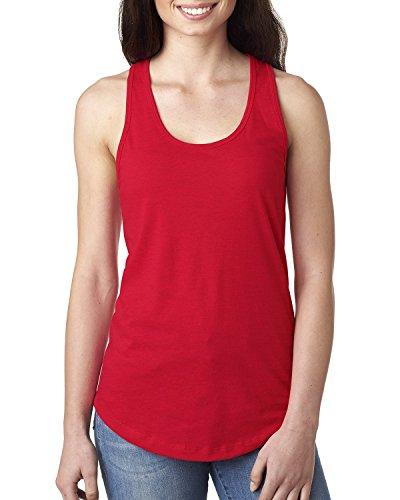 Next Level Damen Pullunder Gr. xxl, Rot - Rot