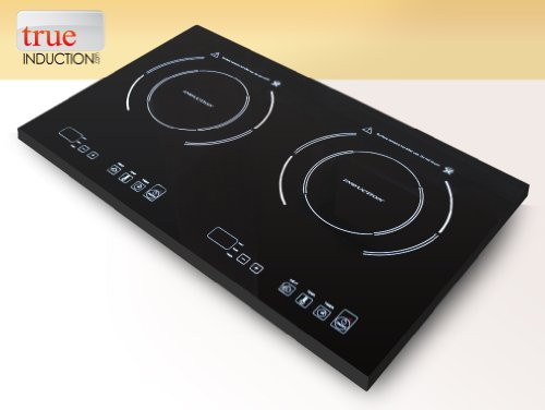 Double True Induction Cooktop – 2 Induction Electric Burner (S2F2)
