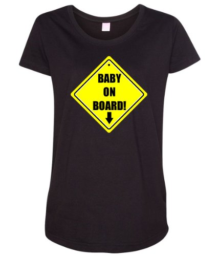Baby On Board Women's Maternity T-Shirt