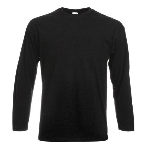 fruit-of-the-loom-herren-langarm-t-shirt-mit-rundhalsausschnitt-l-schwarz-lschwarz