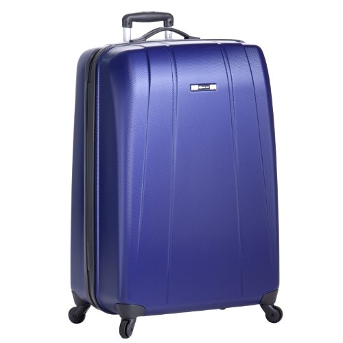Delsey Luggage Helium Shadow Lightweight 4 Wheel Spinner, Blue, 29 Inch special offers