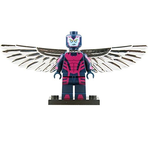 [Movie Block Building Toys 2016 June Archangel Minifigures PG028 X-Men Apocalypse] (Diy Rogue Costume)