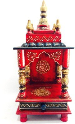 D'Dass Vintage Home Temple/vintage Wooden Temple/ Pooja Mandir/ Mandap/ Temple for Home