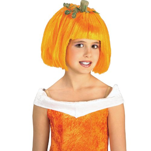 Pumpkin Spice Child Wig, One-Size, Orange