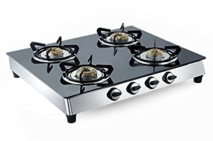 Benz Toughened Glass Gas Cooktop (4 Burner)