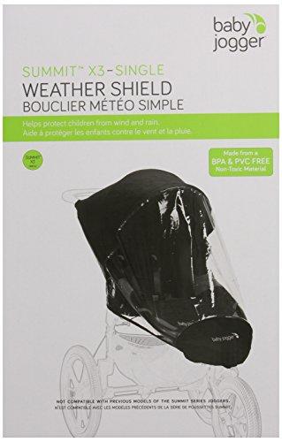 Baby Jogger Rain Canopy, Summit X3 Single front-46564