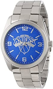 Game Time Unisex NBA-ELI-NY Elite New York Knicks 3-Hand Analog Watch by Game Time