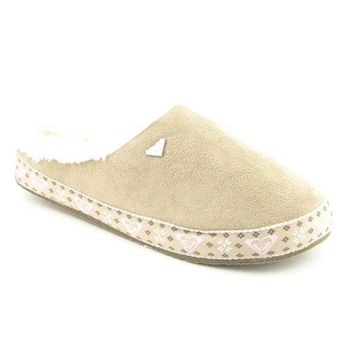 Cheap Roxy By Quiksilver Nutmeg Slippers Shoes Beige Womens (B005EI9G3K)