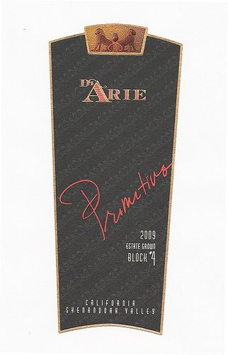 2009 C.G. Di Arie Flagship Wines Primitivo Block #4, Estate Grown 750Ml