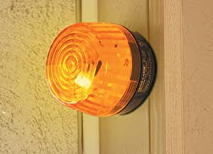 SECO-LARM SL-126Q/A Amber Security Strobe Light