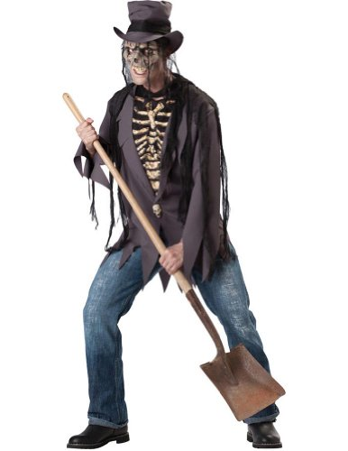 Grave Robber Adult Lg Halloween Costume - Adult Large