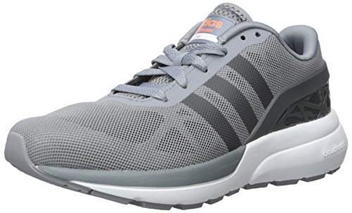Adidas NEO Men's Cloudfoam Flow Shoe,Grey/Dark Solid Grey,9.5 M US