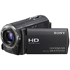 Sony HDR-CX570E Full-HD Camcorder (7,5 cm (3 Zoll) LCD-Display, 12x opt. Zoom, 20 Megapixel, 26mm Weitwinkel) Fotoaufnahme