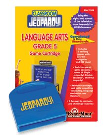 Classroom Jeopardy Language Arts Grade 6 Game Cartridge - 1