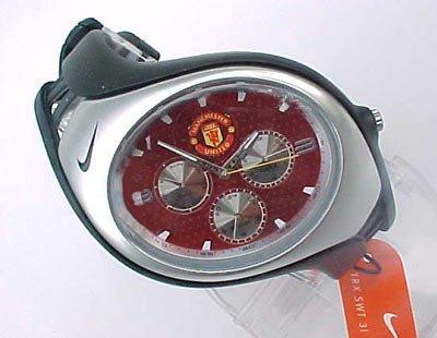 Nike Triax Swift 3i Analog Manchester United Club Team Watch - Black/Red - WD0002-013