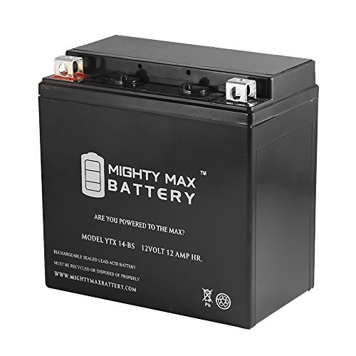 YTX14-BS Replacement Btry. For VESPA (PIAGGIO) MP3 500 2008-2009 - Mighty Max Battery brand product river old satellite vespa 3 2 гр код цв 12