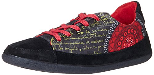 Desigual SHOES LUNA 4, Low-Top Sneaker donna, multicolor ( (3093 KETCHUP)), 36