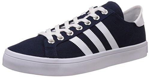 Adidas Court Vantage, Scarpe da Basket Uomo, Multicolore (Conavy/Ftwwht/Metsil), 42 2/3 EU