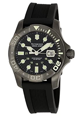 Victorinox Swiss Army Men's 241426 Dive Master 500 Black Ice Black Dial Watch by Victorinox Swiss Army