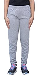 Romano Women's Grey Regular Fit Track Pant