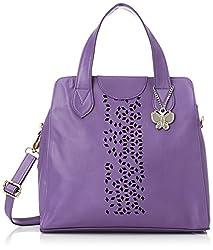 Butterflies Handbag (Purple) (BNS 0455 PPL)