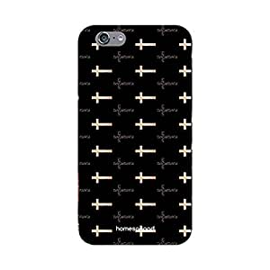 HomeSoGood Christian Symbol Pattern Black 3D Mobile Case For iPhone 6S (Back Cover)