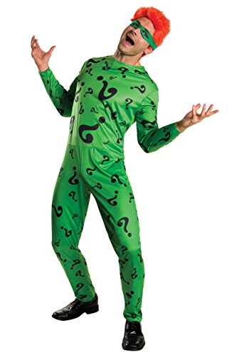 Rubies Costume Co. Inc mens Men's The Riddler Costume - S, M, L XL
