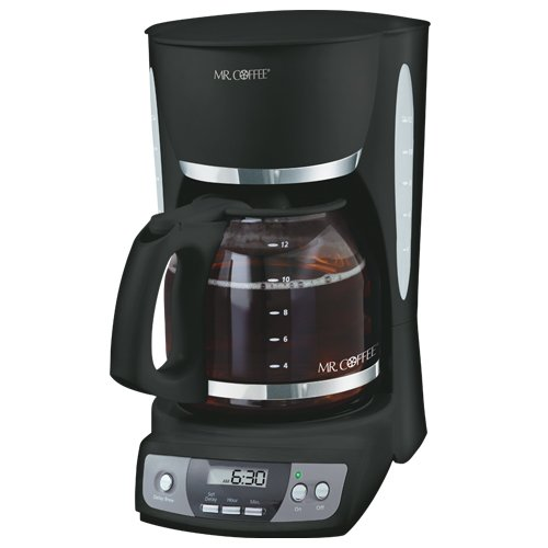 Christmas Mr. Coffee CGX23 12-Cup Programmable Coffeemaker, Black Deals